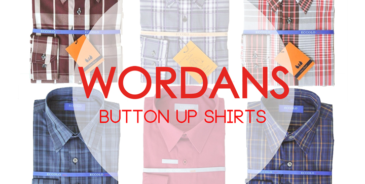 NEW : Button up Shirts