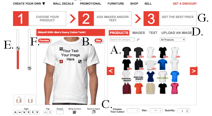 Creating your T-SHIRTS is now easier