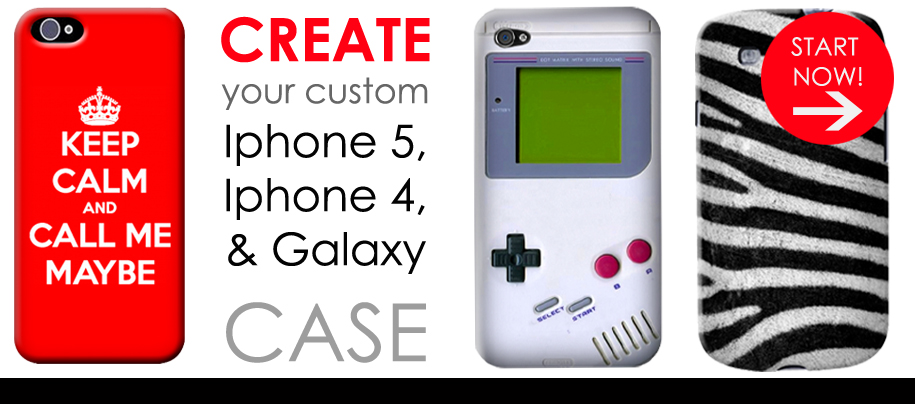 IPHONE & GALAXY CUSTOM CASES