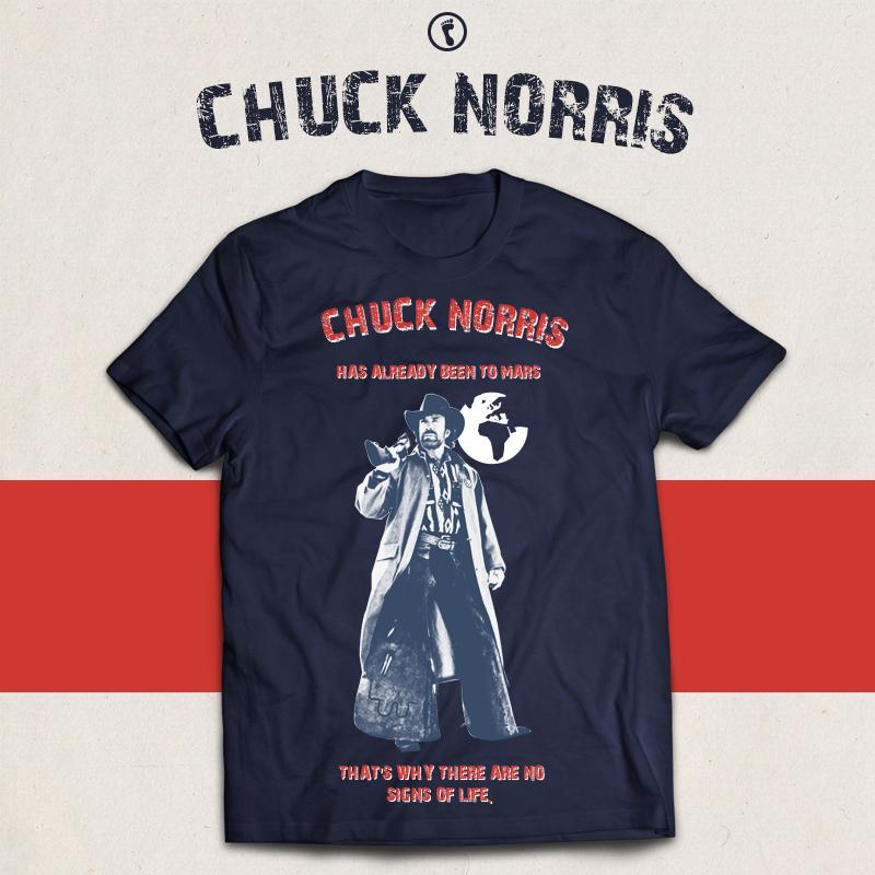 Chuck Norris | T-shirt design