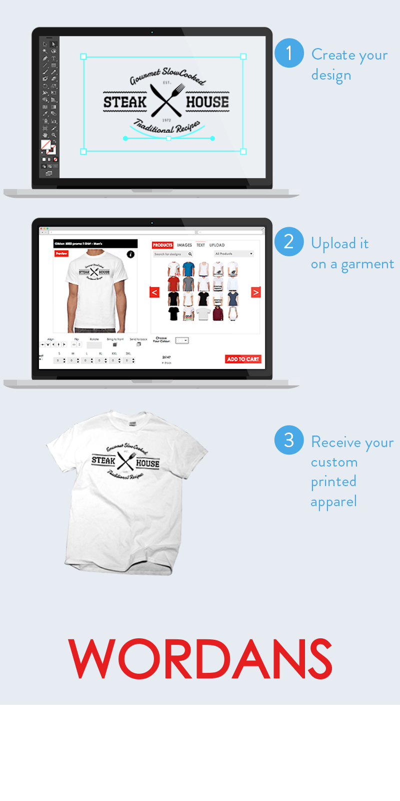 Custom T-shirt - Customize your own apparel