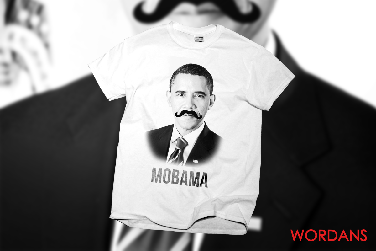 Custom t shirt Obama - MOBAMA