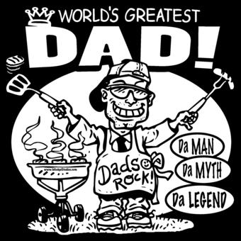 worlds greatest dad custom tshirt