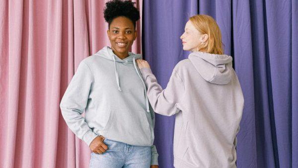 Stylish looks with hoodies