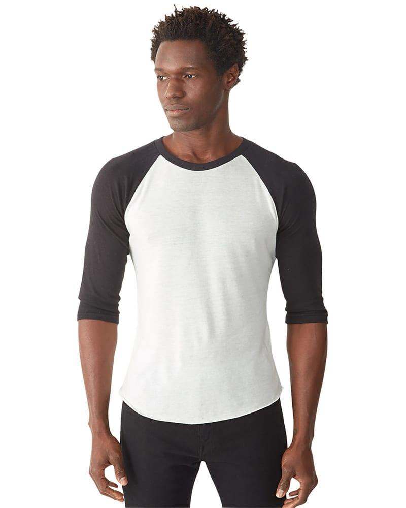0457d1cd Alternative AA2640 - Men's Big League Burnout Baseball T-Shirt