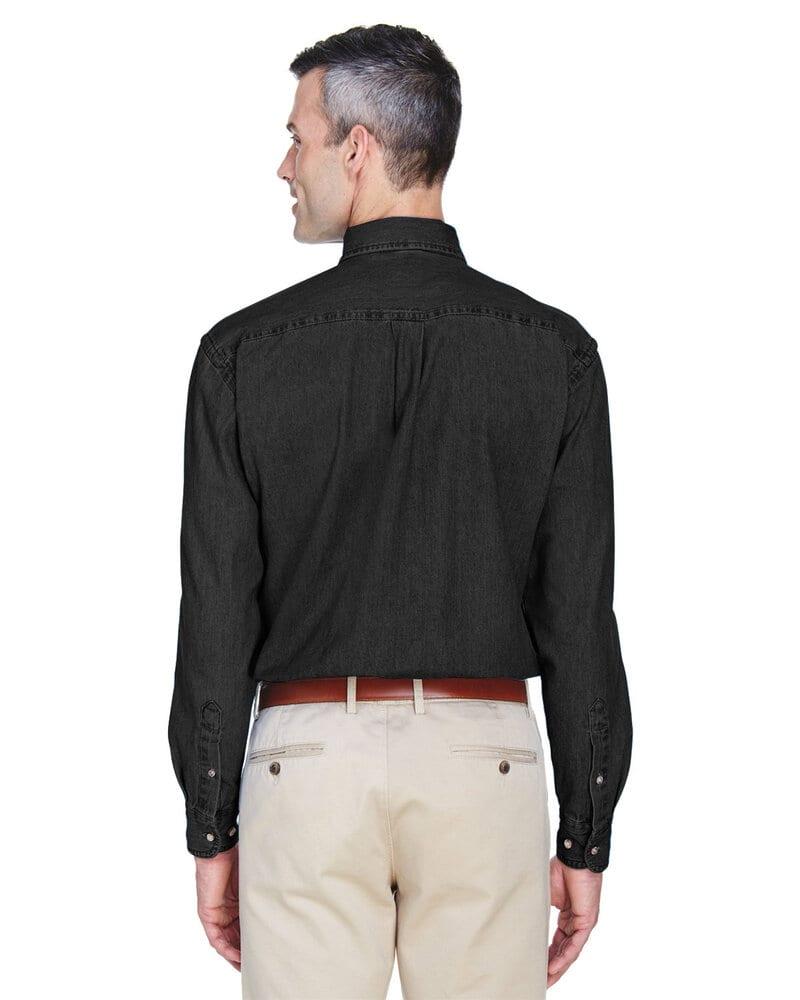 6548232d0ef Harriton M550 - Men s 6.5 oz. Long-Sleeve Denim Shirt