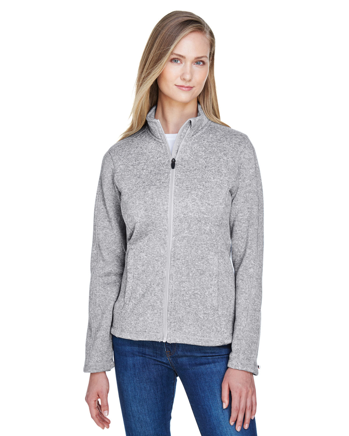 69f20c1d9f85 Devon   Jones DG793W - Ladies Bristol Full-Zip Sweater Fleece Jacket