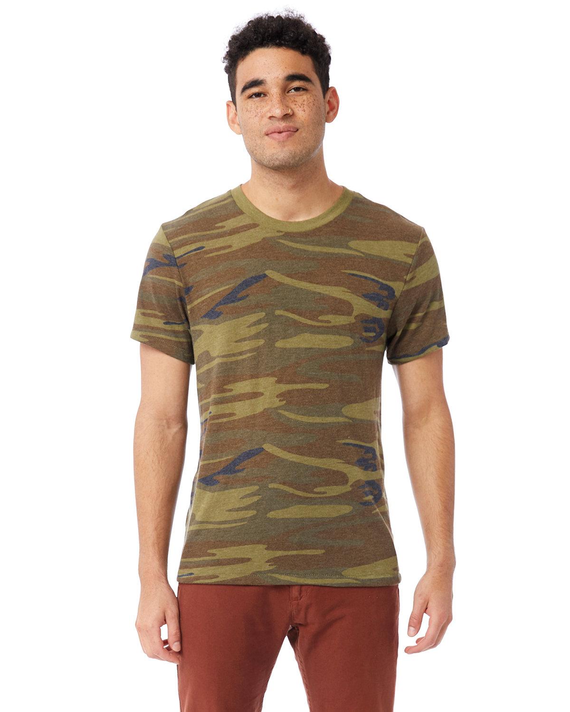 a0246e108a0b6 Alternative Apparel 01973EA - Printed Eco-Jersey Crew T-Shirt